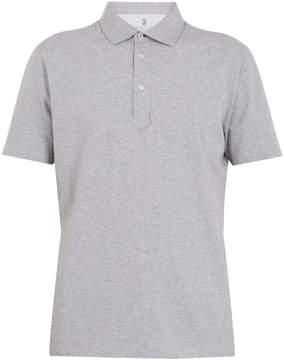 Brunello Cucinelli Point-collar cotton-jersey polo shirt