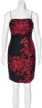 David Meister Silk Printed Dress w/ Tags