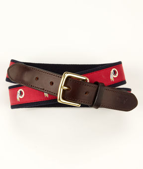 Vineyard Vines Washington Redskins Canvas Club Belt