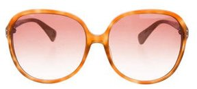 Diane von Furstenberg Maya Square Sunglasses