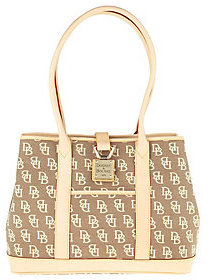 Dooney & Bourke As Is Anniversary Signature Shopper Tote - ONE COLOR - STYLE