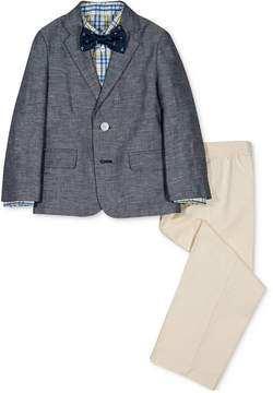 Nautica 4-Pc. Denim & Twill Suit Set, Little Boys