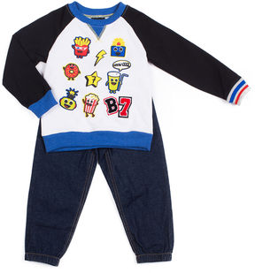 Little Lass 2-pc. Pant Set Baby Boys