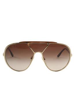 Stella McCartney Gold Ultra Aviator Sunglasses
