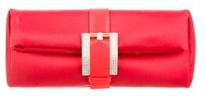 Gianni Versace Satin Belted Clutch