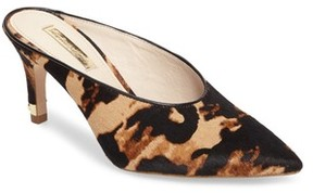 Louise et Cie Women's Karas Genuine Calf Hair Pointy Toe Slide Pump