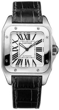 Cartier Santos W20106X8 Women's Stainless Steel Automatic Watch