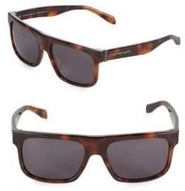 Alexander McQueen 56MM Shield Sunglasses
