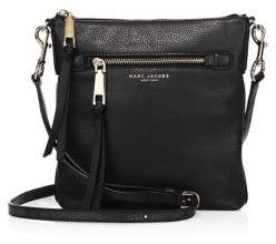 Marc Jacobs Pebbled Leather Crossbody - MINK - STYLE