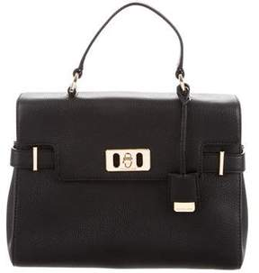 MICHAEL Michael Kors Pebbled Leather Satchel