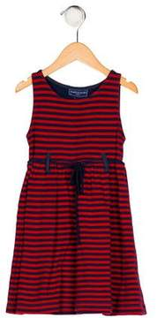 Papo d'Anjo Girls' Striped Sleeveless Dress
