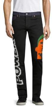 Moschino Power Graphic Jeans