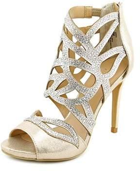 Thalia Sodi Serena Open Toe Canvas Sandals.