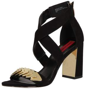 London Rebel *London Rebel Suede effect block heel sandals