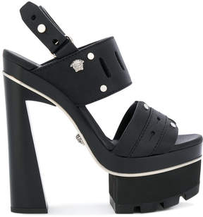 Versace platorm strap sandals