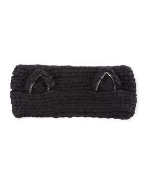 Eugenia Kim Kat Wool Headband with Animal Ears