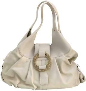 Bulgari White Leather Handbag