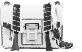 Proenza Schouler Hava Mini Whipstitched Leather Shoulder Bag - White