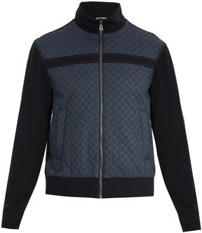 Bottega Veneta Quilted cotton bomber jacket