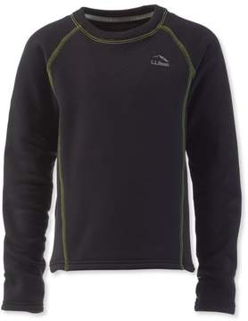 L.L. Bean L.L.Bean Kids' Polartec Base Layer, Long-Sleeve Top
