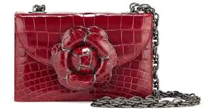 Oscar de la Renta Red Alligator TRO Bag