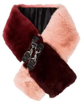 Rebecca Minkoff Fur Embellished Stole