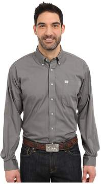 Cinch Long Sleeve Button Down Solid Men's Clothing