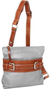 Nino Bossi Delanie Leather Crossbody Bag (Women's)