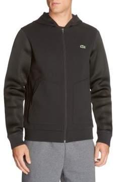 Lacoste Logo Patch Hooded Sweatshirt
