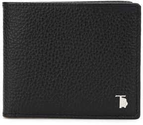 Tod's Hammered Leather Bifold Wallet