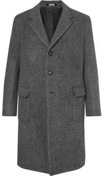 Massimo Alba Herringbone Wool Coat