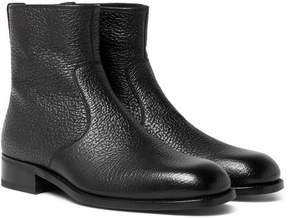 Tom Ford Textured-Leather Boots