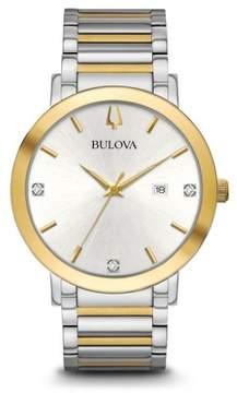 Bulova 98D151 Modern Men's Watch Two-tone Silver/Gold 42mm Stainless Steel