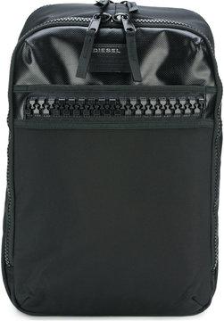 Diesel zip pocket backpack