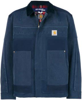 Junya Watanabe MAN x Carhartt lightweight patchwork jacket