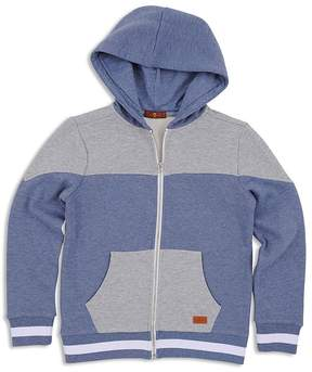 7 For All Mankind Boys' Color Block Hoodie - Big Kid