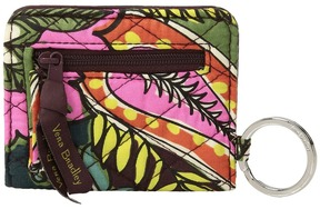 Vera Bradley Iconic RFID Campus Double ID Wallet - AUTUMN LEAVES - STYLE