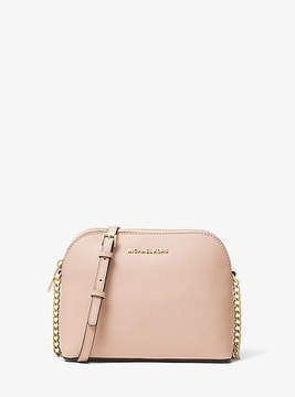 Michael Kors Cindy Large Saffiano Leather Crossbody - PINK - STYLE