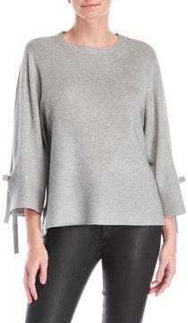 Cliche Tie Sleeve Sweater