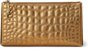 Ralph Lauren Embossed Nappa Leather Pouch