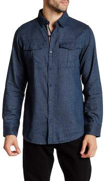 Burnside Rooted Herringbone Regular Fit Shirt