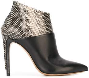 Maison Margiela two tone ankle boots