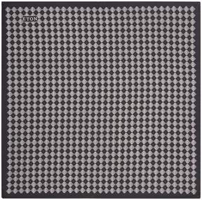 Eton Diamond Print Pocket Square
