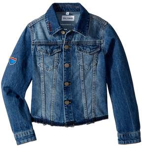 DL1961 Kids Manning Embroidered Jean Jacket Girl's Coat