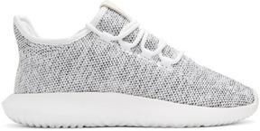 adidas White Knit Tubular Shadow Sneakers