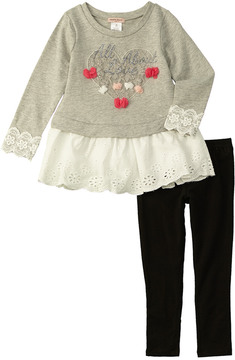Nanette Lepore Girls' All About Love 2Pc Set