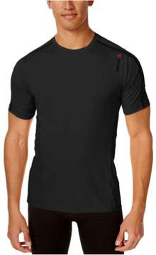 Reebok Mens Advantage Cooling Basic T-Shirt Black XL
