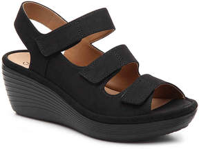 Clarks Reedly Juno Wedge Sandal - Women's