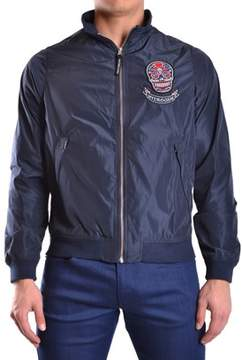 Hydrogen Men's Blue Polyester Outerwear Jacket.
