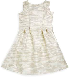 Us Angels Little Angels by Little Girl's Sleeveless Striped Dress